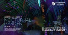 Flower Art Museum toont films over verborgen nachtleven van flora