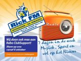 Rick FM doet mee aan de Rabo ClubSupport actie!