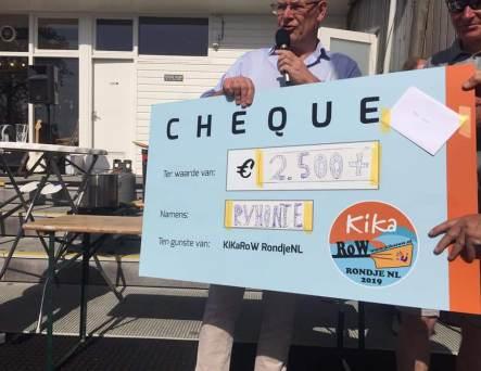 6d144692bc5523 In pas twee weekends KiKaRoW is al een vijfde deel van het gewenste half  miljoen euro binnengeroeid tijdens het Rondje NL.